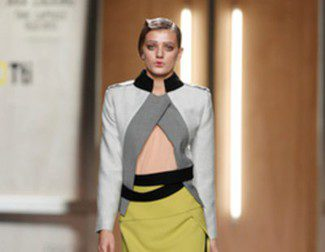 Pasado y futuro de la mano de Ana Locking en la Madrid Fashion Week