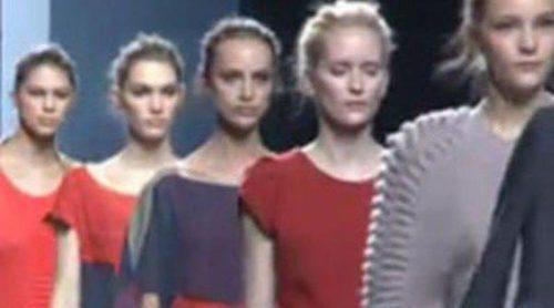 El estilo de la lana y la seda salvaje por Sita Murt en Fashion Week Madrid