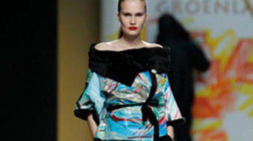 Jesús Lorenzo nos traslada a Groenlandia en su desfile para la Fashion Week Madrid