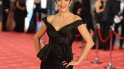 Los seis cambios de look de Eva Hache durante la gala de los Premios Goya 2012