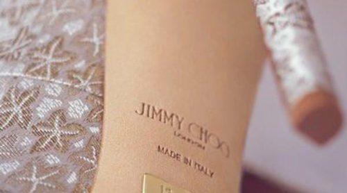 Las novias de Jimmy Choo con zapatos hechos medida y dedicatorias incluidas en su colección Bridal 2016
