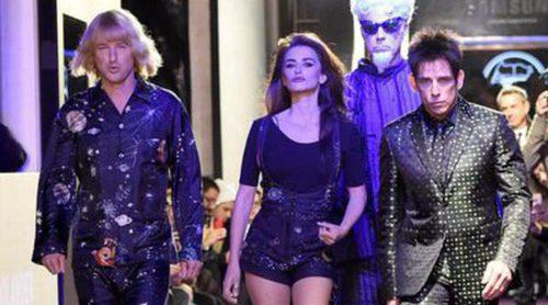 Penélope Cruz inunda las capitales del mundo de glamour en el estreno de 'Zoolander 2'