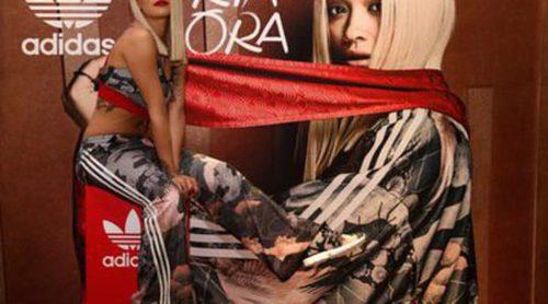 Adidas cuenta con la presencia de Rita Ora en la presentación de su nueva colección sport en Dubai