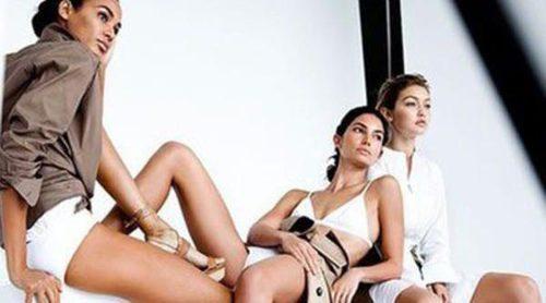 Nuevas imágenes de la campaña protagonizada por Gigi Hadid, Joan Smalls y Lily Aldridge para Stuart Weitzman