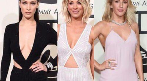 Bella Hadid, Kaley Cuoco y Ellie Goulding entre las mejor vestidas de los Premios Grammy 2016