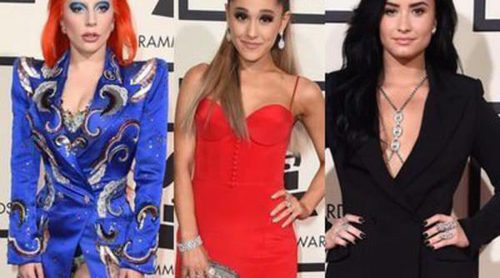Lady Gaga, Demi Lovato y Ariana Grande entre las peor vestidas de los Premios Grammy 2016