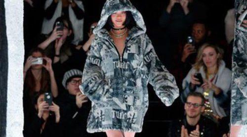 Nueva York acoge la estética más 'dark' de la colección Fenty de Rihanna para otoño/invierno 2016/2017
