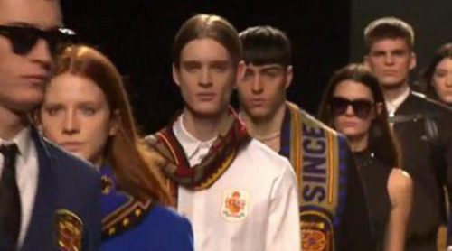 Madrid inicia la Fashion Week con el estilo sport patriótico de David Delfín para otoño/invierno 2016/2017
