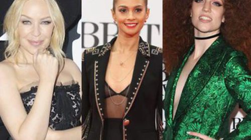 Kylie Minogue, Alesha Dixon y Jess Glynne entre las peor vestidas de los Premios Brit 2016