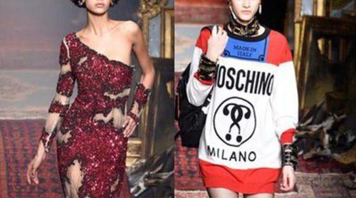 Moschino incendia la Fashion Week de Milán con sus diseños para otoño/invierno 2016/2017