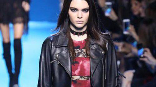 Elie Saab muestra colección 'Boho-Gótica' con Kendall Jenner como embajadora del desfile en Paris Fashion Week