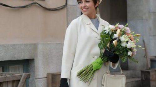 Así es el look años 60 de Paula Echevarría en la cuarta temporada de 'Velvet'