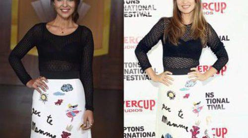 Olivia Wilde vs Paula Echevarría: Enfrentadas por un Dolce & Gabbana