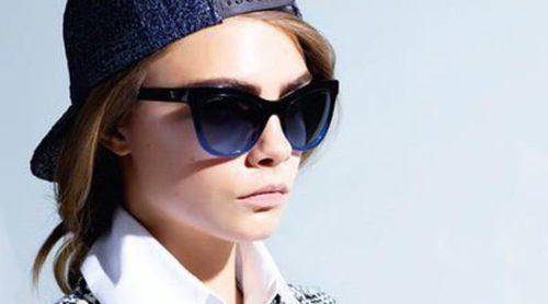 Chanel engatusa a Cara Delevigne para que vuelva a la moda con su nueva colección de gafas