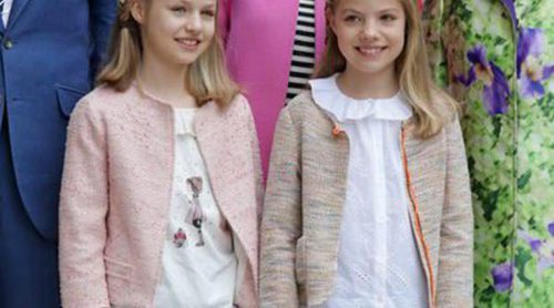 Nanos y Pili Carrera visten a la Princesa Leonor y la Infanta Sofía en la Misa de Pascua 2016