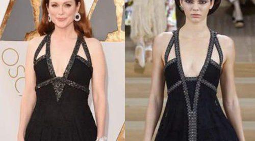 Kendall Jenner vs. Julianne Moore: de la pasarela de Chanel a la alfombra roja de los Oscar 2016