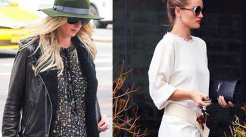 El look festivalero de Rosie Huntington y el outfit premamá de Nicky Hilton, entre las mejor vestidas de la semana