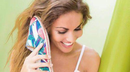 Lara Álvarez, embajadora de las alpargatas Miss Hamptons para este verano 2016