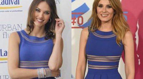 Helen Lindes y Elena Ballesteros, ¿quién luce mejor el vestido Vicedomini?