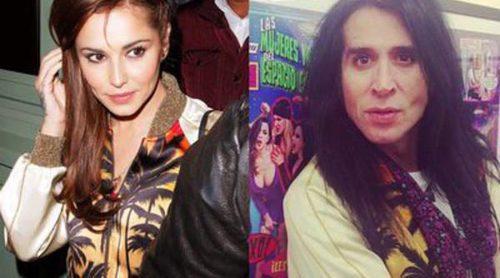 Cheryl Cole, Mario Vaquerizo y su bomber tropical: ¿quién luce mejor la chaqueta?