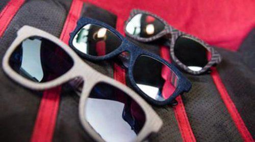 Fusión de verano: Italia Independent se alinea con Alcántara para lanza una colección de gafas de sol