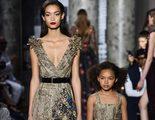 Revolución mini: Elie Saab sorprende en la semana de la Alta Costura con la moda infantil