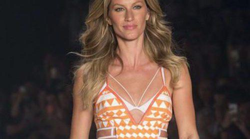 Gisele Bündchen regresa a la pasarela con la inauguración de los JJ.OO de Río 2016