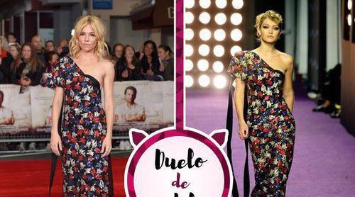 Sienna Miller y Gigi Hadid con un mismo vestido de Marc Jacobs, ¿a quién le queda mejor?