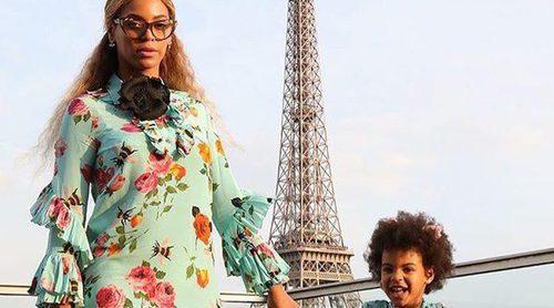 Moda para madre e hija con Gucci: así les sienta el mismo vestido Beyoncé y su hija Blue Ivy
