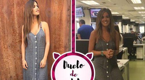 Sara Carbonero e Isabel Jiménez: dos amigas y un mismo vestido de su firma Slow Love