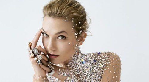 Karlie Kloss triunfa como nuevo diamante en la nueva campaña Crystaldust de Swarovski