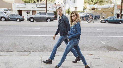 Hailey Baldwin y Lucky Blue Smith conquistan Los Ángeles con la colección Hilfiger Denim