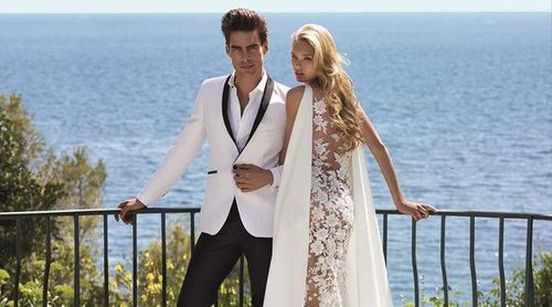 Pronovias presenta su colección 'Will you marry me?' con Jon Kortajarena y Romee Strijd