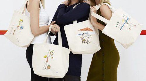 Clarins y Soledad Bravi crean unos divertidos bolsos solidarios para la Fundación Arthritis