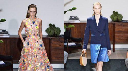 Navy y flores, así es la primavera/verano 2017 de Jason Wu sobre la Semana de la Moda de Nueva York