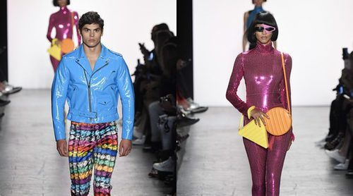Los colores fluor y el estilo ochentero se suben a la New York Fashion Week con Jeremy Scott