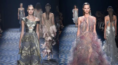 Los cuentos de princesas desfilan en la New York Fashion Week con Marchesa