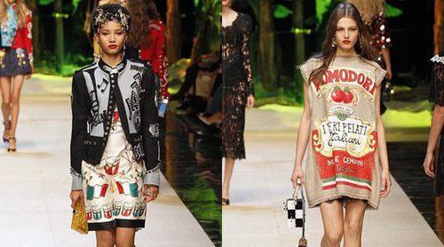 Dolce & Gabbana homenajea a Italia en su primavera/verano 2017 sobre la Milán Fashion Week