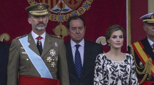 El estilo otoñal de la Reina Letizia en el Día de la Hispanidad 2016