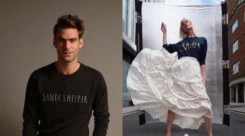 Save The Children lanza jerseys navideños diseñados por Poppy Delevingne y Jon Kortajarena