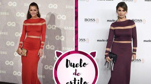Mónica Cruz y Malena Costa coinciden con el mismo vestido de Roberto Diz, el favorito de las celebs