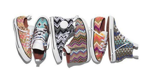 Missoni llena de color las icónicas sneakers de Converse para otoño/invierno 2016/2017