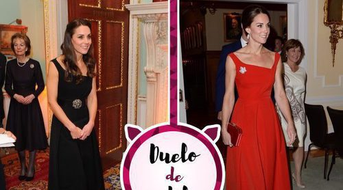 Kate Middleton, un mismo vestido en dos colores diferentes: ¿Cuál le sienta mejor?