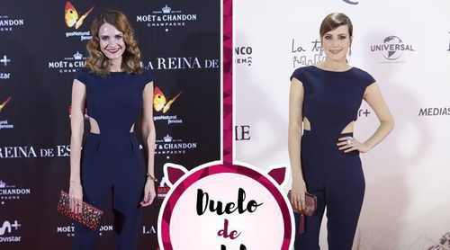 Natalia de Molina y Elena Ballesteros, dos actrices con un mismo mono azul ¿Quién lo luce mejor?