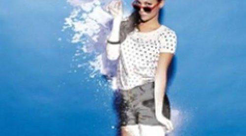 Elisa Mouliaá, nueva imagen de Refresh para la campaña primavera-verano 2012