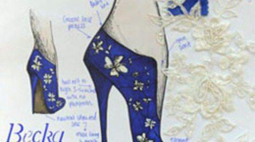 La estudiante de diseño Becka Hunt crea un zapato que lucirá Kate Middleton