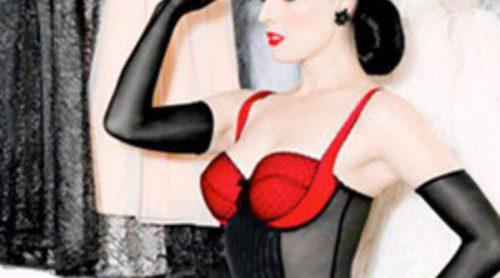 Von Follies, la colección de lencería vintage diseñada por Dita Von Teese