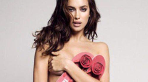 Irina Shayk y Arthur Sales muy provocativos para Xti primavera/verano 2012
