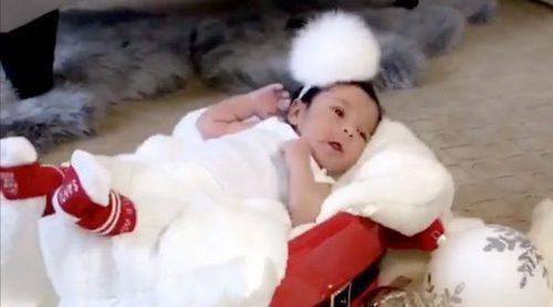 Dream Kardashian ya es modelo: presenta los calcetines de la firma de su padre en Navidad 2016