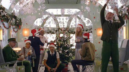 H&M viaja en un tren muy especial en su nuevo corto para presentar la Navidad 2016 con Wes Anderson